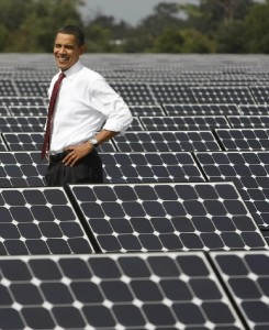 オバマと太陽光