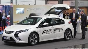 ドイツで現在発売中のオペル製電気自動車