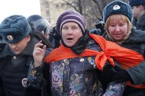 ルビヤンカ広場での抗議集会