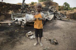 オマル・ジョボ、5歳。