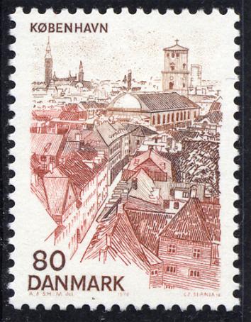 コペンハーゲン(デンマーク 1976年発行)
