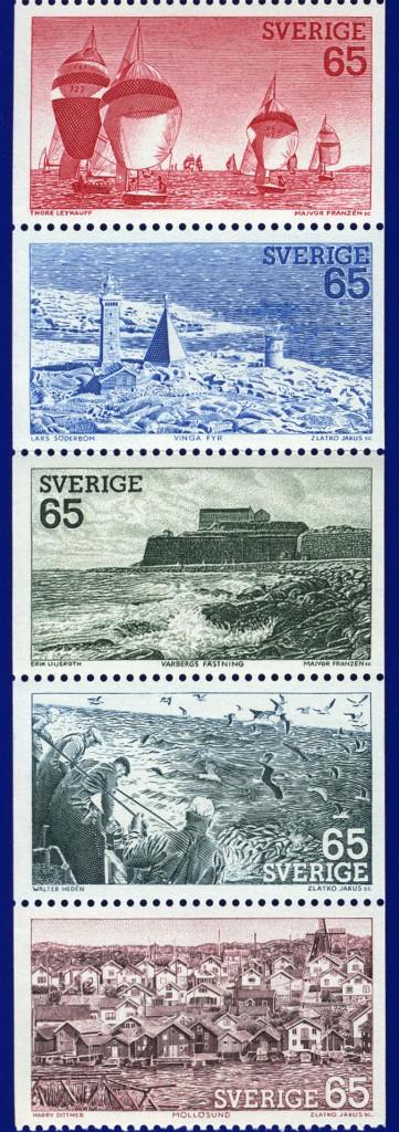 今回の震災では[海]について、考えさせられることが多いスウェーデン1974年発行[西海岸]