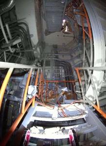 クインスが撮影した福島第一原発内部の写真