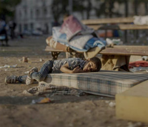 難民子供 4
