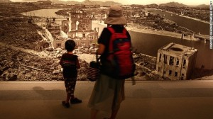 広島平和記念資料館内