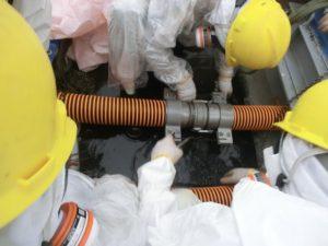 汚染水配管