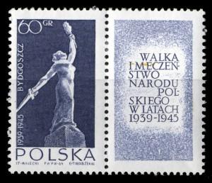ニケの像 ポーランド1964年発行 福島第一原発の現場で闘う人々はこの像のように崇高である