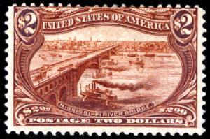 トランス・ミシシッピ博覧会 1898年アメリカ発行 カタログ評価が420,000円という高額評価の切手