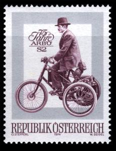 オーストリア 1974年発行