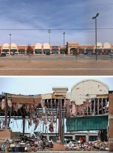 モーア市のショッピングセンター