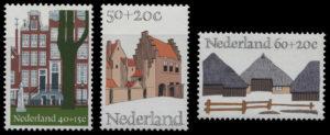 オランダ伝統の建物 1975年発行