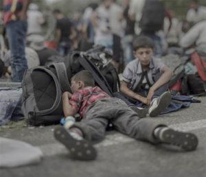 難民子供 3