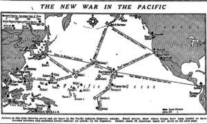 太平洋戦争地図