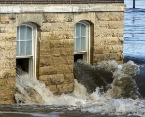 ミズーリ州の洪水