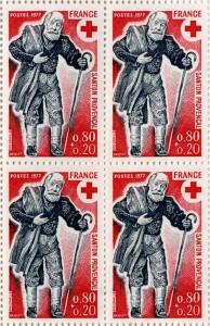 プロヴァンス地方の人形 1977年発行 フランス赤十字切手