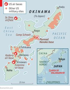 沖縄米軍基地地図