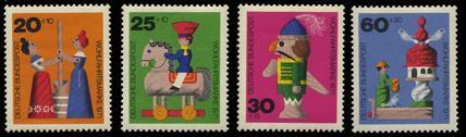 西ドイツ1971年発行 児童福祉