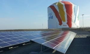 ナショナル・グリッドの太陽光発電設備